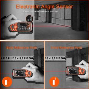 Image 4 - LOMVUM 66U Laser Rangefinder Digital Laser Tape Leveling Device 40M 80M 120M Ruler Instrument Build Measure Device Trena Laser
