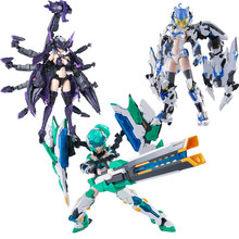 Combinaison Mobile en trois parties pour filles, 1/12 ATKGIRL JK Serqet Scorpion Gundam Gynoid, figurine d'action à assembler, en Stock