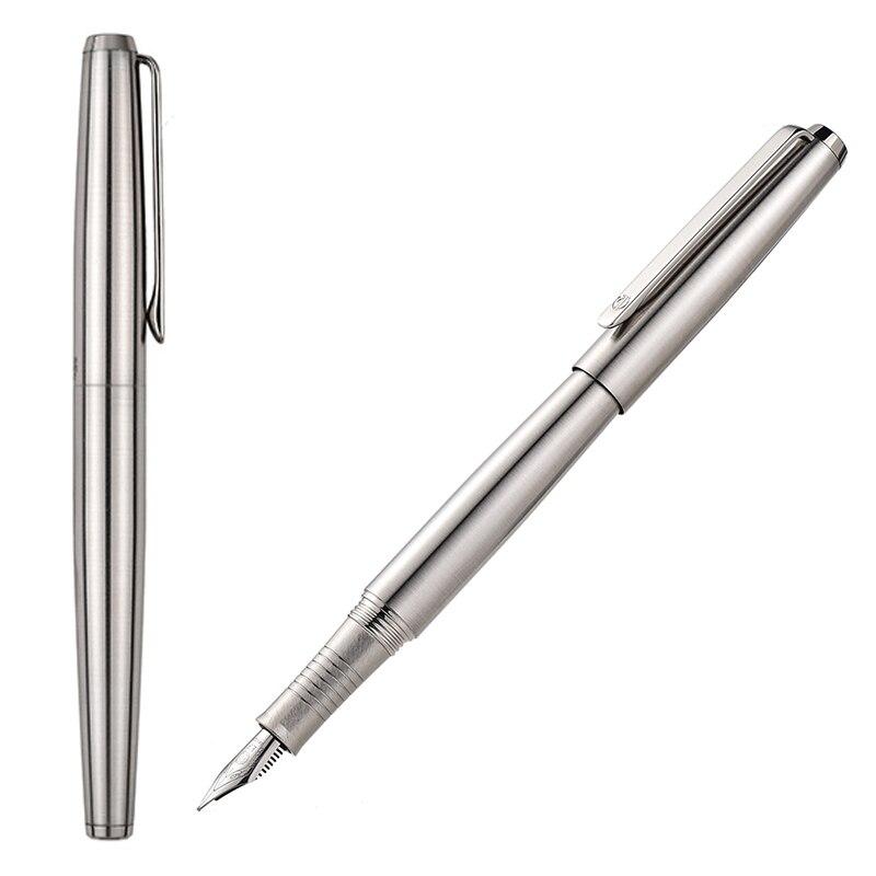 Hongdian-Full-Steel-Fountain-Pen-EF-F-Be