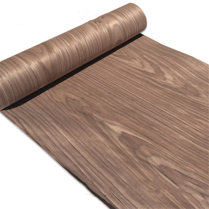 Technical Veneer Sliced Wood Engineering Veneer E.V. 63cm X 2.5m Walnut C/C