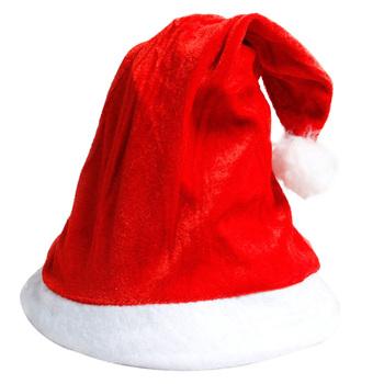 1pc złoty aksamit czapka świętego mikołaja Hairball boże narodzenie kapelusz włochata piłka impreza dla dorosłych czapka festiwal kostium imprezowy dostawy na prezenty tanie i dobre opinie VKTECH CN (pochodzenie) COTTON Christmas Hat Golden Velvet 27 X 36cm 10 63 X 14 17