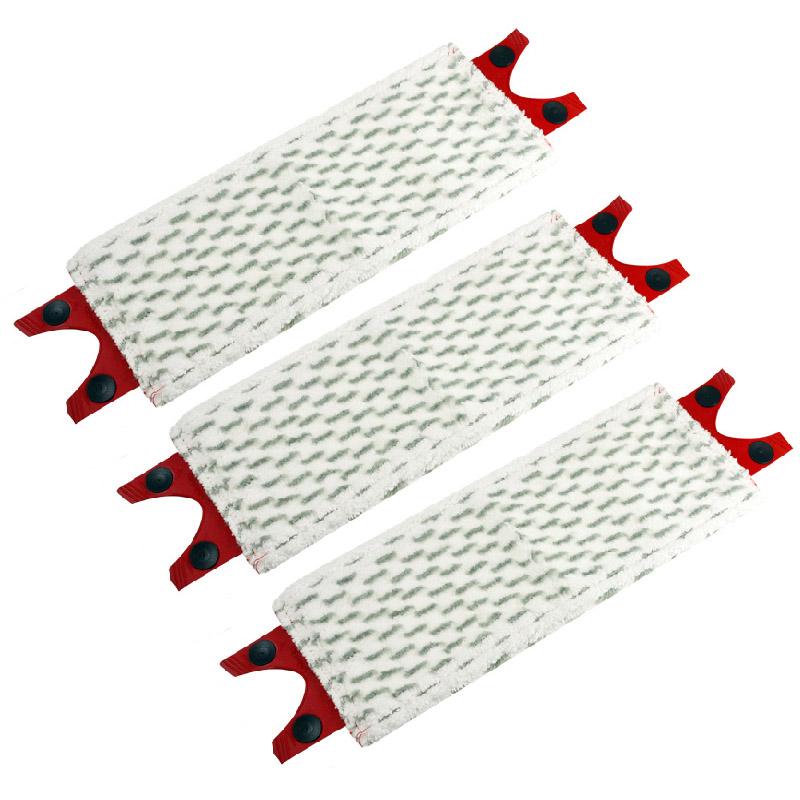 New 3pcs/Lot Microfibre Floor Mop Pads Replacement for Vileda UltraMax Mop Refill for o cedar mop(China)