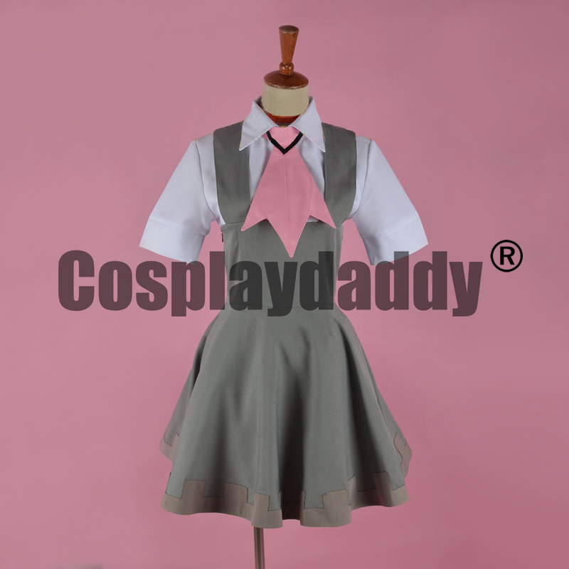 Pokemon Pocket Monsters Omega Ruby and Alpha Sapphire Rustboro Gym Leader Roxanne Tsutsuji Dress Outfit Cosplay Costume F006 image