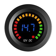 LED Digital Voltmeter Volt Panel Meter for 12V Car Motorcycle Panel Digital Voltmeter Tester Monitor Display Voltmeter Gauges