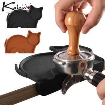 Animal Silicone Coffee Tamper Mat Anti-Slip Press Powder Pad Corner Tamping Kitchen Bar Accessories