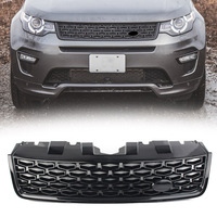 Car Front Grille Upper Radiator Mesh Grill For Land Rover Discovery Sport L550 LR066143 2015 2016 2017 2018 DSB w/ Logo