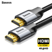 Baseus HDMI Cable 4K Male to Male HDMI 2.0 Cable For PS4 Pro