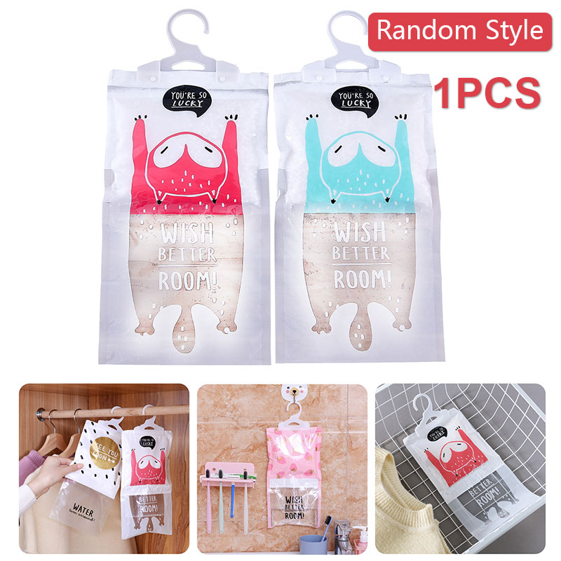 Hygroscopic Dehumidifier Bag Dehumidifier Household Desiccant Hanging Calcium Chloride Multifunctional Desiccant Bag