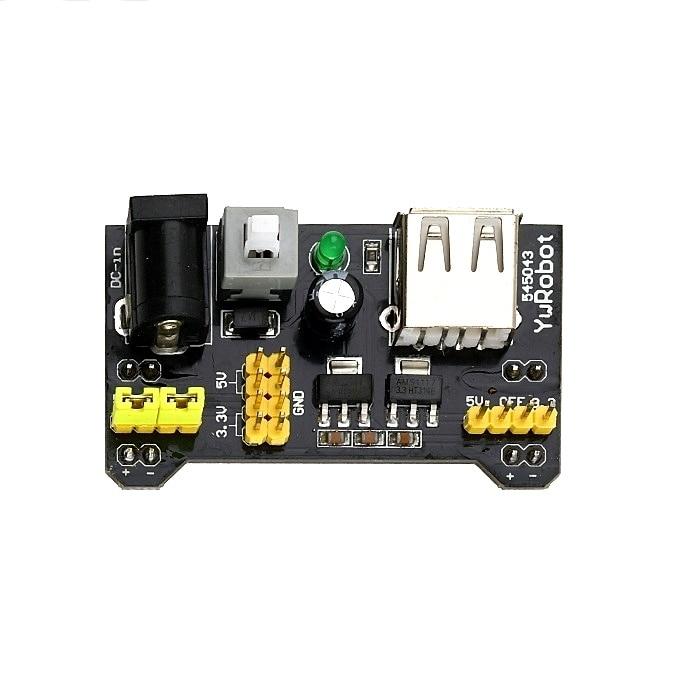 MB102 MB-102 Breadboard Power Supply Module 3.3V/5V For Solderless Bread Board