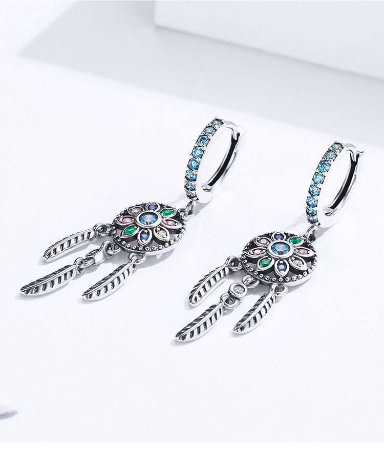 H7eae5c52279642efbeecc6b6058a7ab8s - Dream Catcher Hanging Drop Earrings