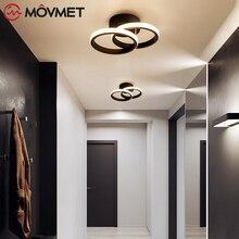 Modern Led Chandelier Decoraction Black White Chandelier Lighting For Living room Bedroom Light Fixtures Luminaire