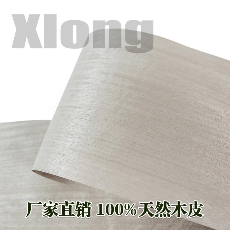 L:2.5Meters Width:200mm Thickness:0.25mm Amway Shadow Wood Natural Veneer Manual Veneer Pure Solid Wood Veneer