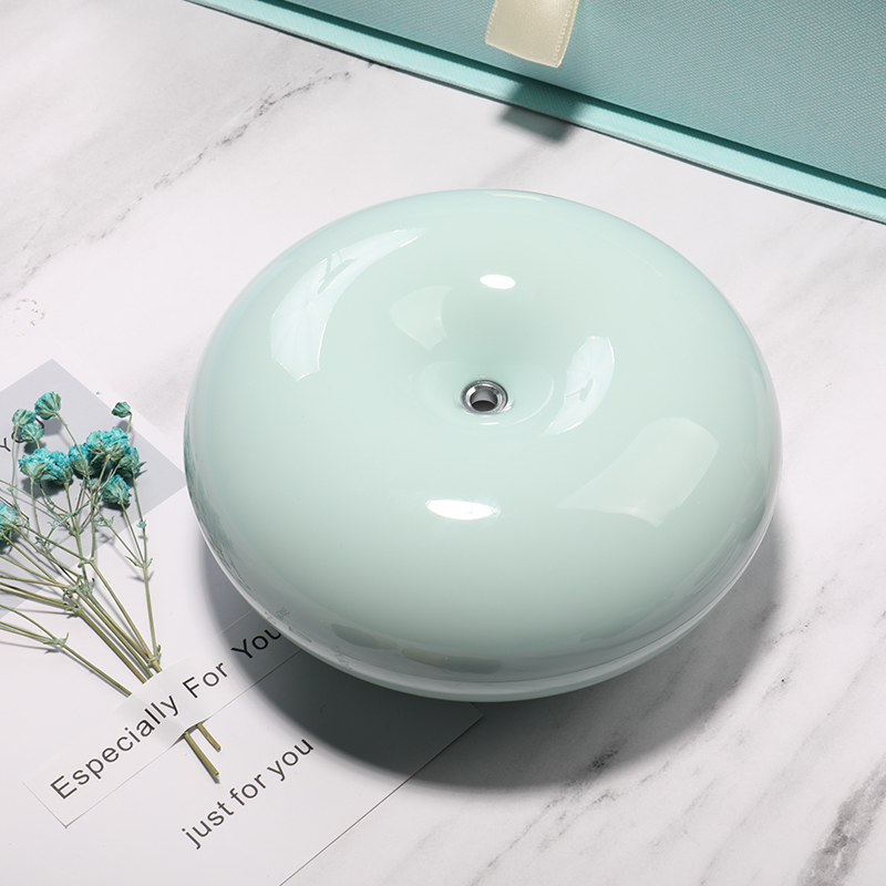 Electric Incense Burner Mini Pink Green Mute Office Humidifier Home Incense Holder Quemador Incienso Aroma Oil Burner MM60XXL
