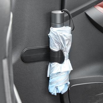 Wielofunkcyjny hak parasol samochodowy hak na zaczep do renault clio megane 2 megane 3 duster captur clio scenic kadjar fluence tanie i dobre opinie Z tworzywa sztucznego Self-adhesive Waterproof Umbrella Cover hook up Multifunction Hook Hanger Car Seat Clip Fastener Rack