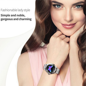 Image 2 - KW10 חכם שעון נשים IP68 עמיד למים ניטור קצב לב Bluetooth עבור אנדרואיד IOS כושר צמיד Smartwatch pk H2 H1