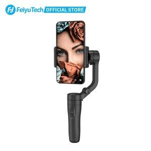 Image 2 - FeiyuTech הרשמי Vlog כיס מתקפל 3 ציר כף יד Gimbal Smartphone מייצב Selfie מקל עבור iPhone 12 11 Samsung S20