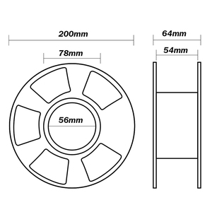 Image 4 - Translucence PETG Filament For 3D Printer 1.75MM Good Toughness PETG Filament 1KG With Spool Lampshade Consumable Material