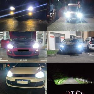 Image 5 - 2x G1 G2 7600Lm Car LED Canbus Headlight Driving Lamp Light Bulb Kit 72W DC9 36V For BMW Audi Benz VW Golf 6 7 Nissan
