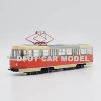 diecast wheel 1:43 Alloy Tatra T3 Car Model Of Children's Toy Cars Original Box For Kids Toys Free Shipping
