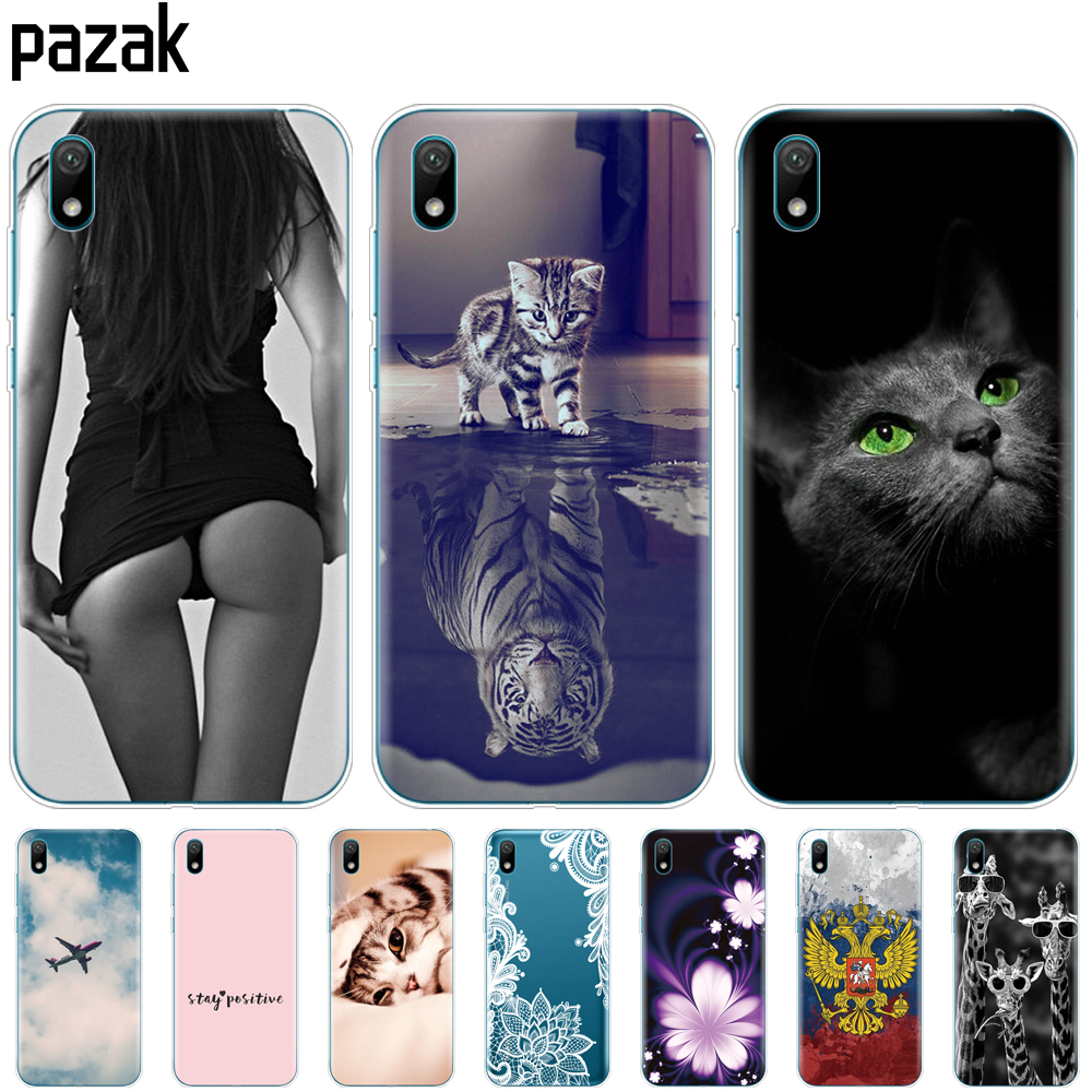 For Huawei Y5 2019 Case Bumper Silicone TPU Back Cover Soft Phone Case For Huawei Y5 2019  Coque Bumper 5.71 Inch