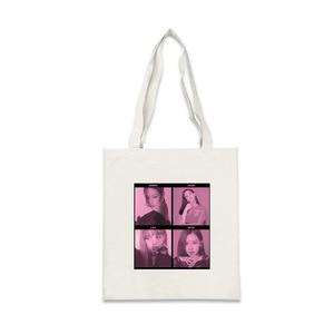 Kpop BLACKPINKs WORLD TOUR хозяйственная сумка джисо Дженни LISA розовое Портативный Холщовая Сумка На Молнии Модные одно плечо парус сумка