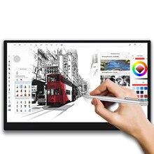 Creative13 gráficos desenho tablet 13.3 Polegada monitor portátil exibir animação arte digital com tilt 8192 tela de toque pressão