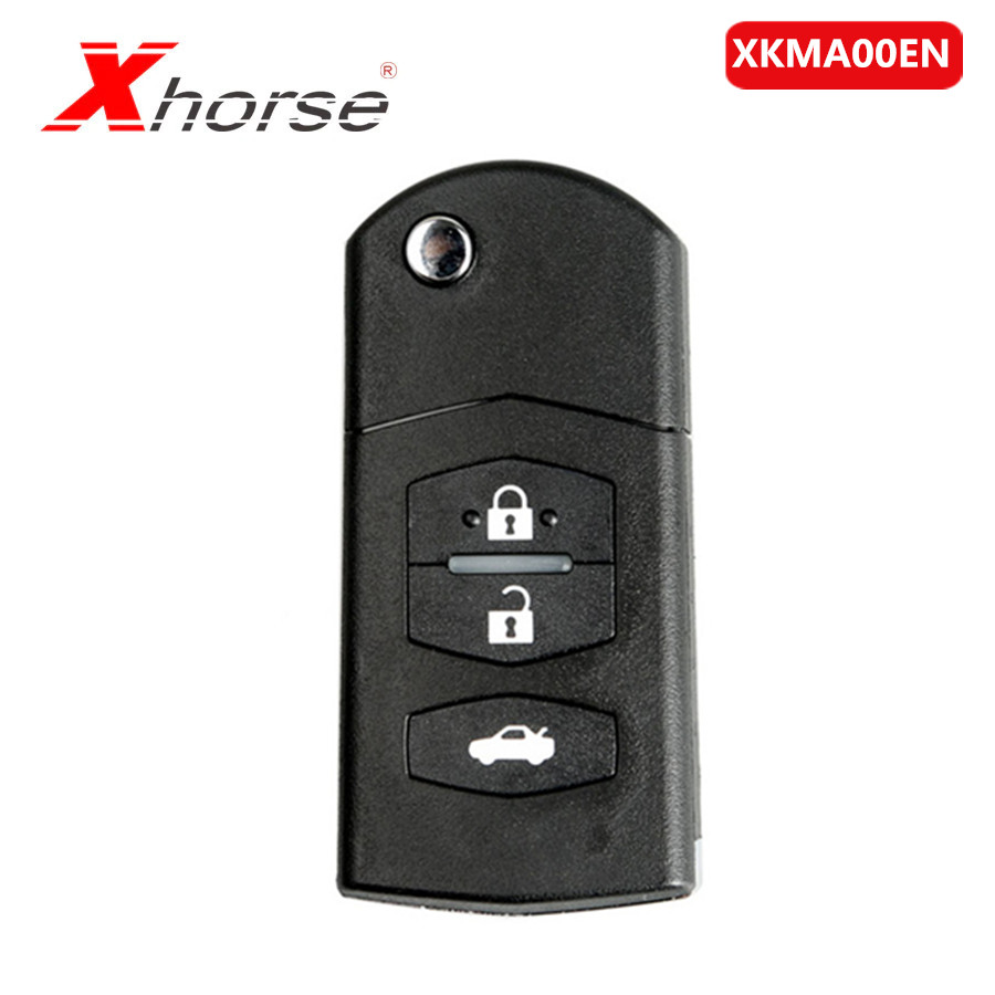 Xhorse XKMA00EN Universal Remote Key Fob 3 Buttons For Mazda Type For VVDI Key Tool 1 Piece