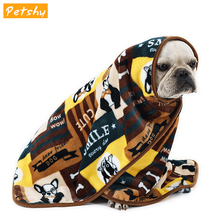 Petshy Pet Blanket Soft Flannel Thickened Cat Sleeping Mat Puppy Dog Cat Sofa Cushion Home Rug Dog Sleeping Cover Pet Supplies