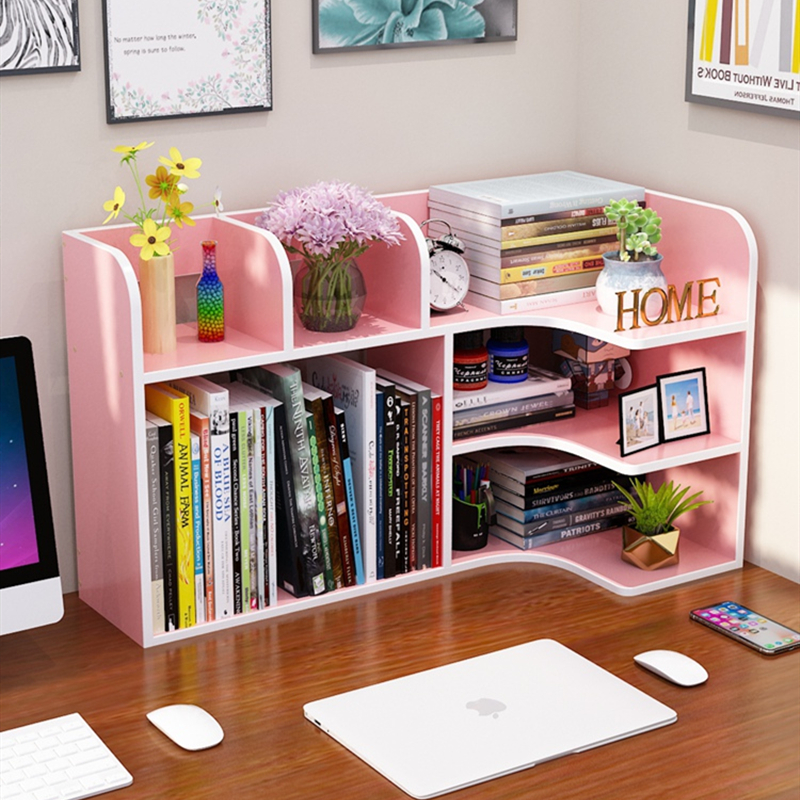 Children's Desktop Small Bookshelves On The Desktop Receiving Students'Household Bookshelves Simple