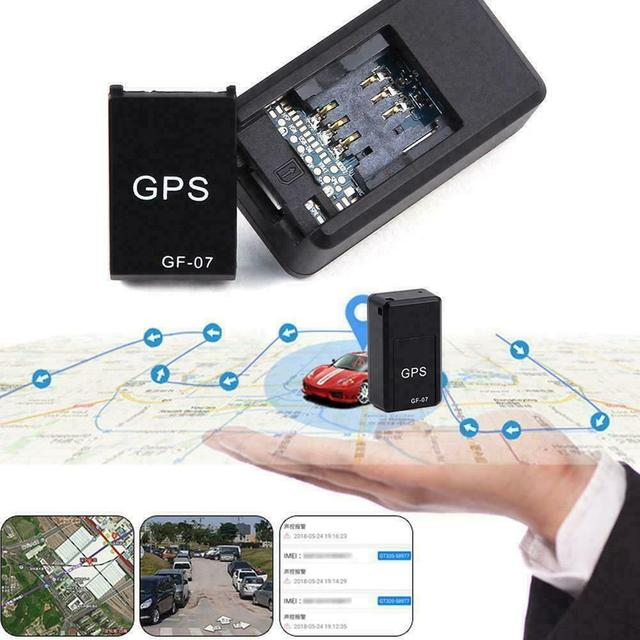 New Mini GPS Tracker GF07 GPS Locator Recording Anti-Lost Device Support Remote Operation of Mobile Phone GPRS Tracking Device 2