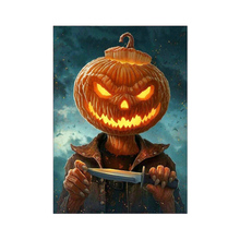 30x40cm Full Drill 5D DIY Diamond Painting Halloween Theme 3D Embroidery Cross Stitch Rhinestone Home Decor Dropshipping