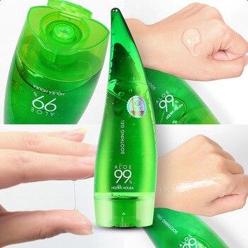 HOLIKA HOLIKA 99% Aloe Soothing Gel Aloe Vera Gel Skin Care Remove Acne Moisturizing Day Cream After Sun Lotions Aloe Gel 55ml недорого