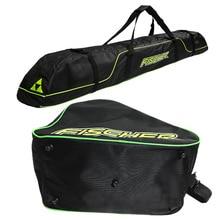 Лыжная сумка защитный ремень фиксированный рюкзак Лыжная длинная доска пакет лыжные ботинки сумка двойная доска пакет 175 см