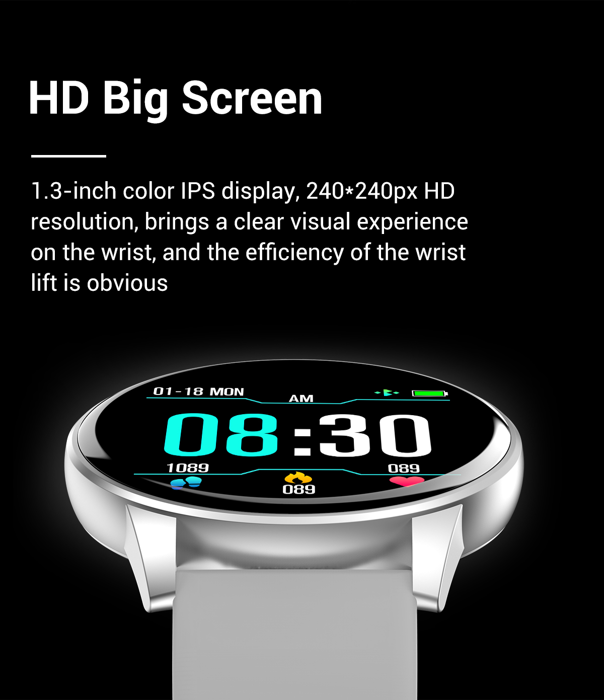 HD smartwatch