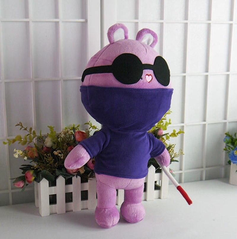 Аниме Счастливое дерево друзья плюшевые игрушки HTF крот фигурка кукла 40 см наполнение подушка мультфильм косплей для подарка