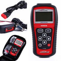 Original KONNWEI KW808 OBD Car Scanner OBD2 Auto Automotive Diagnostic Scanner Tool Supports J1850 Engine Fualt Code Reader dfd