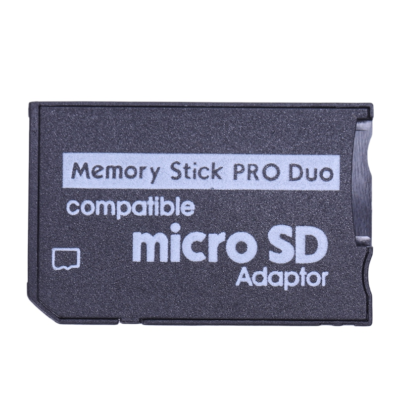 Memory Stick Pro Duo Mini MicroSD TF To MS Adapter SD SDHC Card Reader For Sony & PSP Series