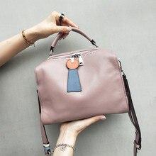 high quality Women Top-Handle Bags Genuiine Cow Leather Hand Bag Ladies Luxury Handbags Designer Shoulder sac