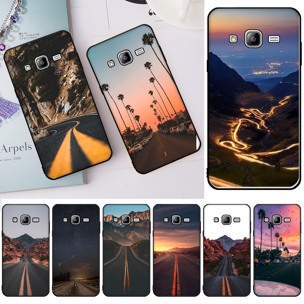 Mountain Highway Wallpaper Phone Cover For Samsung J2 Prime J2 Pro J4 J4plus J415 J6 J6 Prime J7 Plus J7 2018 Half Wrapped Cases Aliexpress