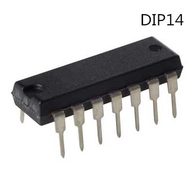 10 Uds SN74HC04N DIP14 SN74HC04 DIP 74HC04N DIP-14 74HC04 nuevo y original IC