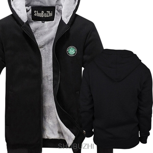 Image 2 - Ural Motorcycles Black hoodie shubuzhi New winter thick hoodies Men brand warm jacket male coat sbz4467