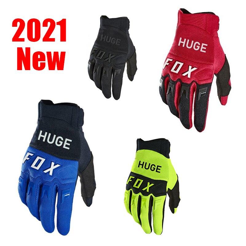 2021 огромные велосипедные перчатки из лисы, перчатки для мотокросса, гоночные перчатки для мотокросса, перчатки для трюков, квадроциклов, MTB, ...