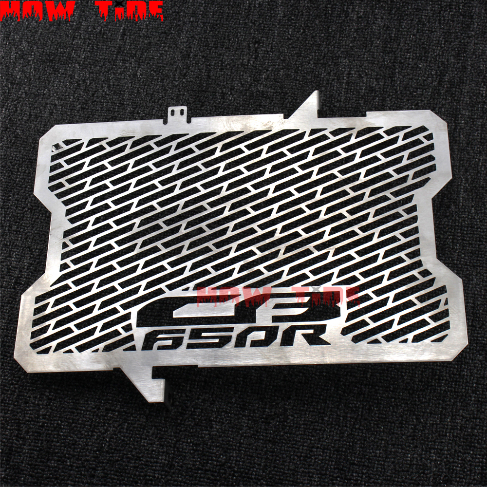 Black Stainless Steel Motorcycle Radiator Grille Guard Protector Cover Motor bike Black Silver For Honda CTX1300 CTX 1300