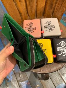 Image 4 - Orabird Genuine Leather Women Short Wallets Card Holder Cute Purse Ladies Luxury Small Wallet for Cards Money Bag 2019