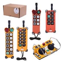 F21-E1B HBC DCH Telecrane eot crane parts industrial radio remote control telecrane industrial wireless radio single speed 8 buttons f21 e1b remote control 1 transmitter 1 receiver for crane