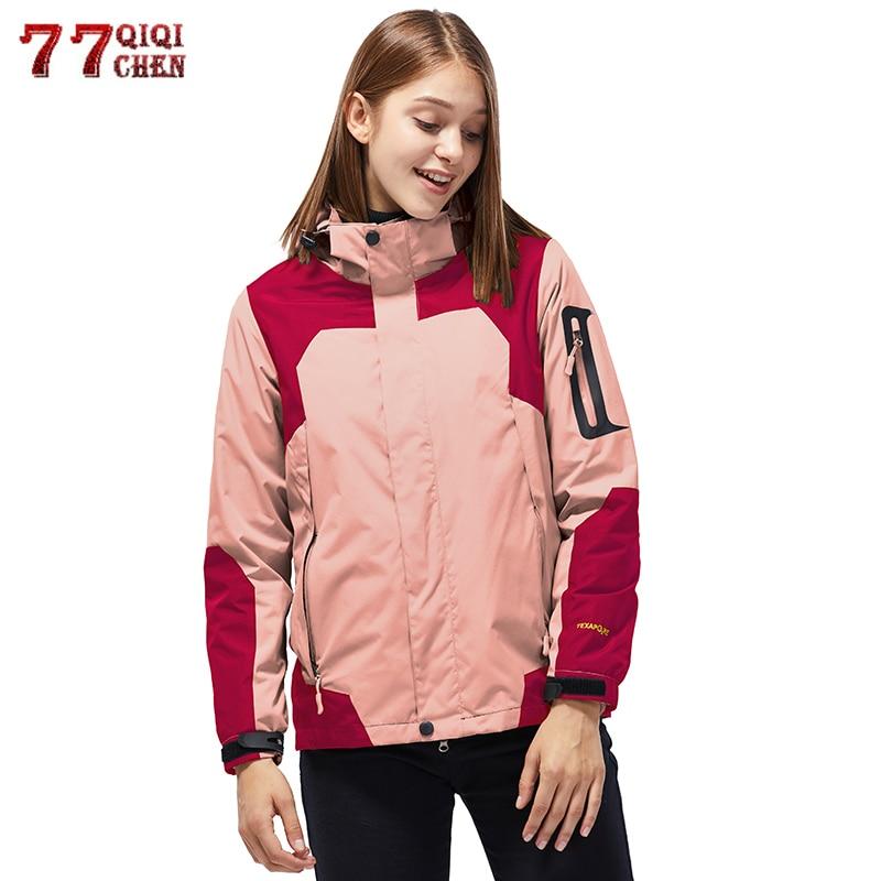 Women/'s Warm Fleece Lined Hooded Parka Jacket Winter Windbreaker Outwear Coat