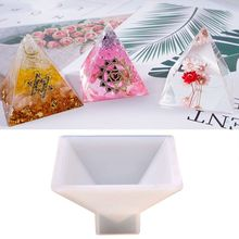 Handmade Jewelry Transparent Silicone Mould Dried Flower UV Resin Crafts Mold