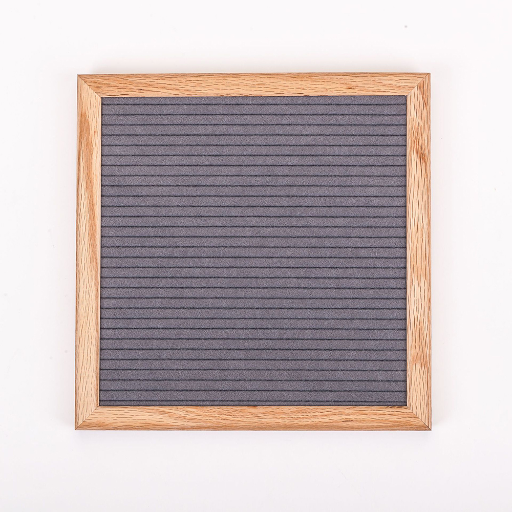 Felt Letter Board Wooden Frame Changeable Symbols Numbers Characters Message Boards For Home Office Decorative Boards