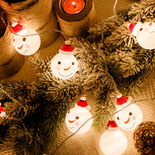 Snowman Light String Tree Lamp LED Garland Balls String Lights Christmas Decoration For Home Outdoor Fairy Light String New Year