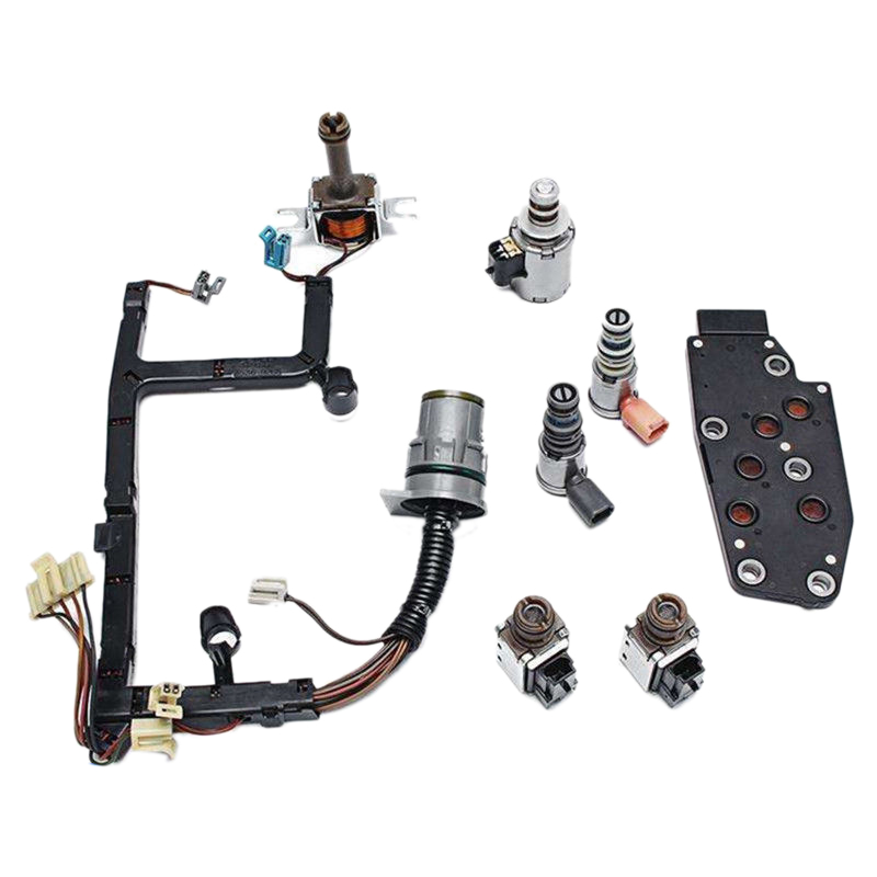 4L60E Transmission Solenoid Full-Kit Master Epc Shift Tcc Pwm 3-2 For GM 1993-2005